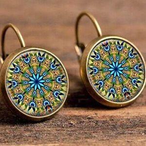 Beautiful dangly earrings. $9 2/$15